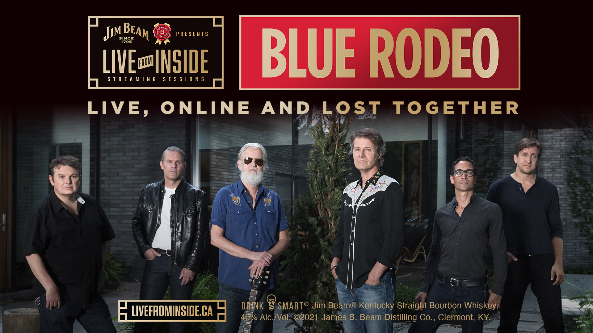Jim Beam Presents Live From Inside: Blue Rodeo – Live Online and Lost Together